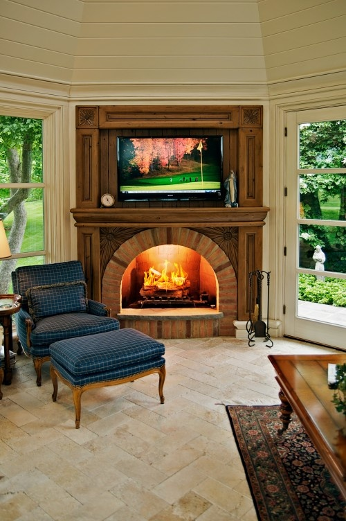 fireplace mantles can sport - photo #9