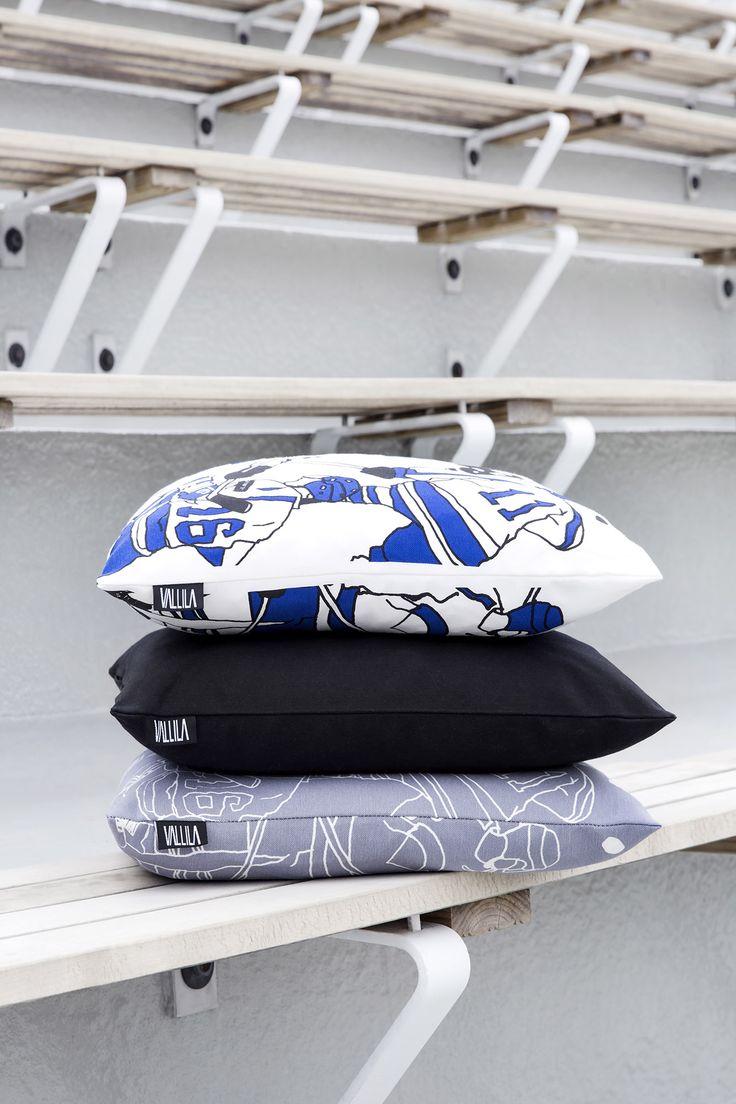 Ysiviis cushions by Eveliina Netti, Hip Hop cushion