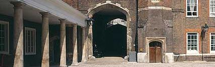 St. James's Palace is the senior Palace of the Sovereign, with a long history as a Royal residence. As the home of several members of the Royal Family and their household offices, it is often in use for official functions and is not open to the public.