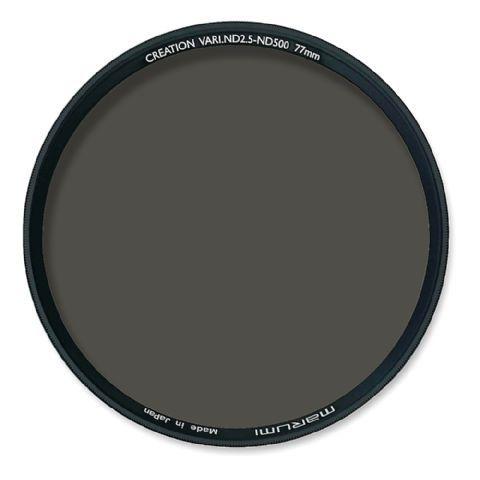 Marumi Grijs Variabel Filter Creation Vari ND2.5-ND500 82 mm  Het variabele 82mm grijsfilter van Marumi biedt een ND waarde van 1/2.5 tot 1/500 en 1 1/3 stops tot 9.0 stops. Hiermee creëert u prachtige foto-effecten in vele situaties. Door aan het filter te draaien kunt u traploos instellen hoeveel licht er tegengehouden moet worden. Zo hoeft u nooit meer met meerdere losse filters te werken. Ondanks het robuuste frame is het ND filter slechts 59mm dik. (Exclusief schroefdraad). Dit voorkomt…