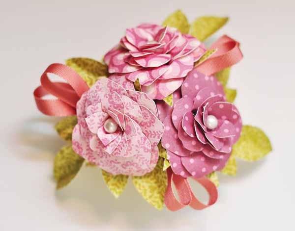 17 Best Images About Cricut Flower Shoppe On Pinterest