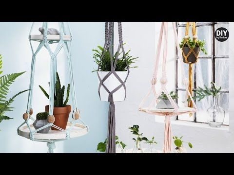 DIY by Panduro: Hanging holders with trays - YouTube