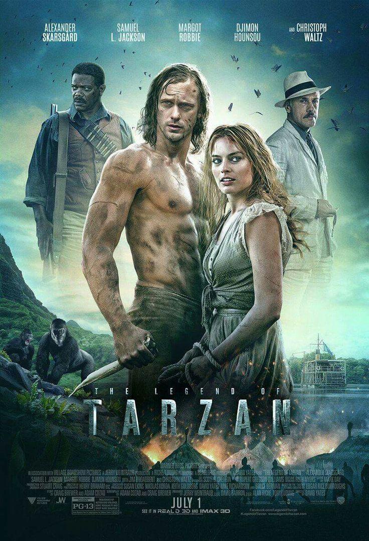 Een andere poster van Tarzan dat me wel meer doet denken aan avontuur. Qua kleurgebruik, kledij, rekwisieten, achtergrond, locatie