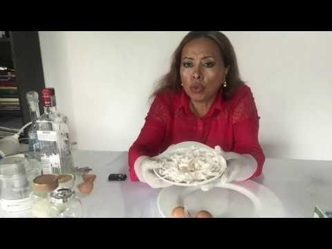 Rejuvenecer, Colágeno y ácido hialurónico casero, de membranas de huevo. MEJORADO - YouTube