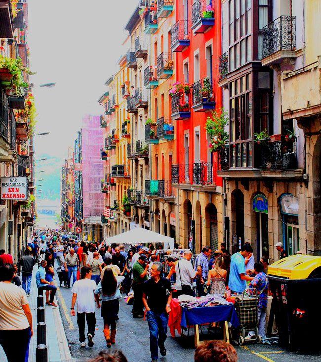 Mercado, mercadillos, rastro bilbao
