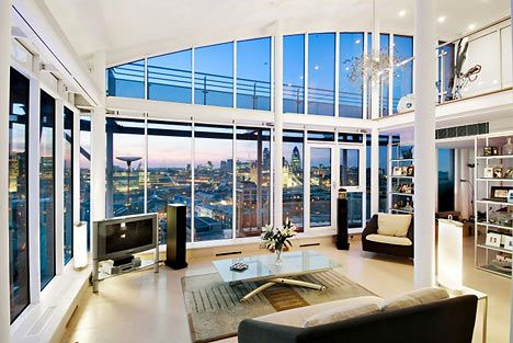 The Penthouse in London is the most expensive apartment in the world with a price of $200,000,000.