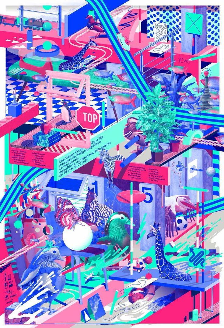 Pin by 何惠彬 on 插画