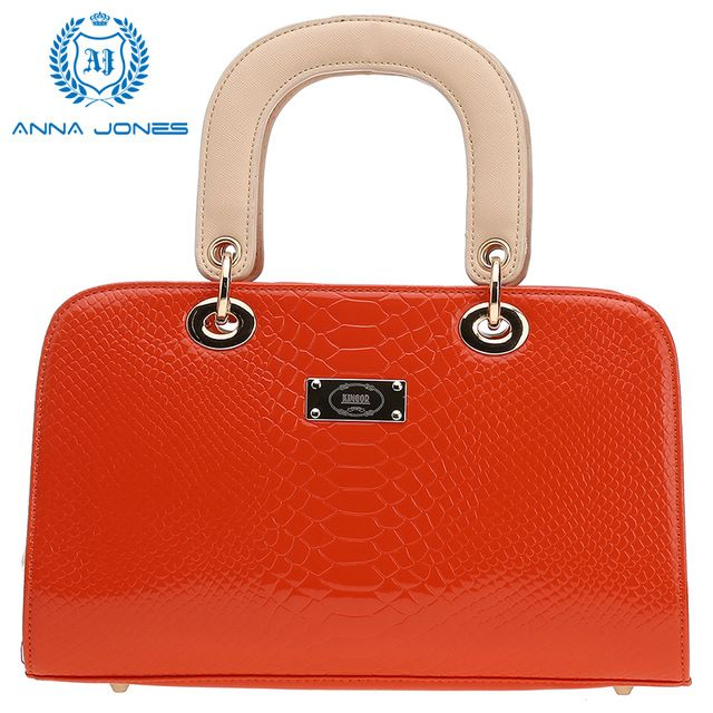 Special price ANNA JONES 2016 tote bag  handbag womens purses handbags online shopping vintage handbags J8016R Red and Yellow just only $16.99 with free shipping worldwide  #womantophandlebags Plese click on picture to see our special price for you