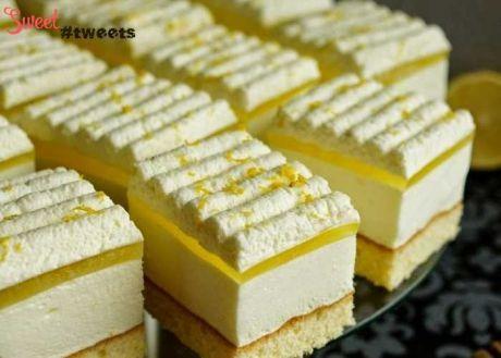 Лимонний пляцок : Ням ням за 5 хвилин