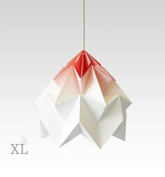 Origami Lamps by Nellianna on etsy