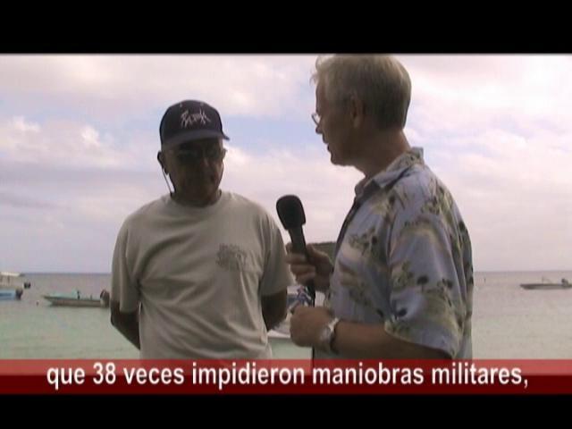 """(1-3) Carlos Tazo: Los 'guerrilleros' pescadores que impidieron 15 000 marines gringos a desembarcar en la isla Vieq by Dick & Mirian Emanuelsson. """"La verdad es que la inteligencia de los pescadores fue muy superior a la estrategia militar de la Marina de los EE.UU."""""""