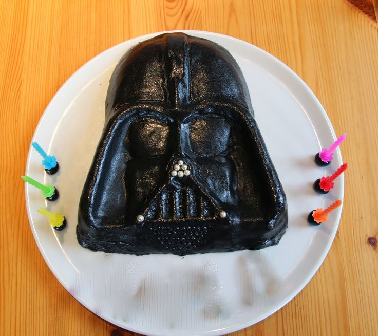 gâteau anniversaire dark vador darth vader cake