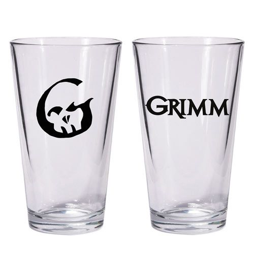 Grimm TV Show Pint Glass