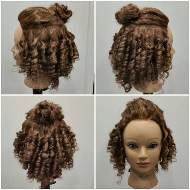 52 best intro images on pinterest hair curls and hairstyle piggyback perm finished curls urmus Gallery