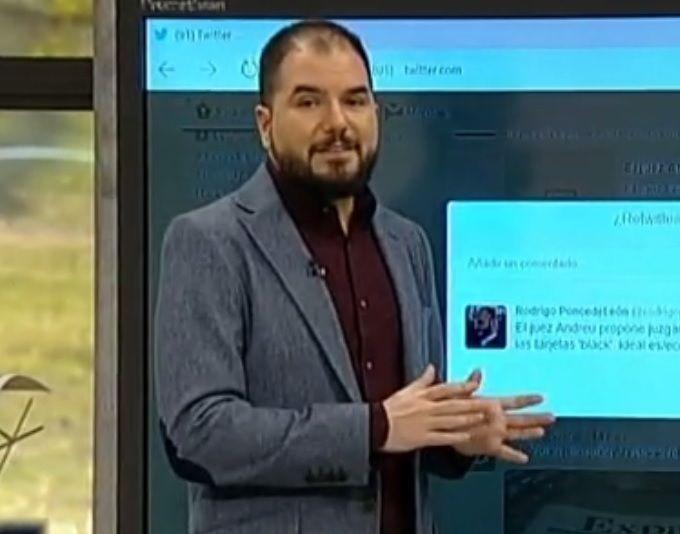 """Hablando sobre Twitter en """"A punto con La 2"""""""