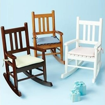 Kids Wooden Rocking Chairs - traditional - kids chairs - The Land of Nod