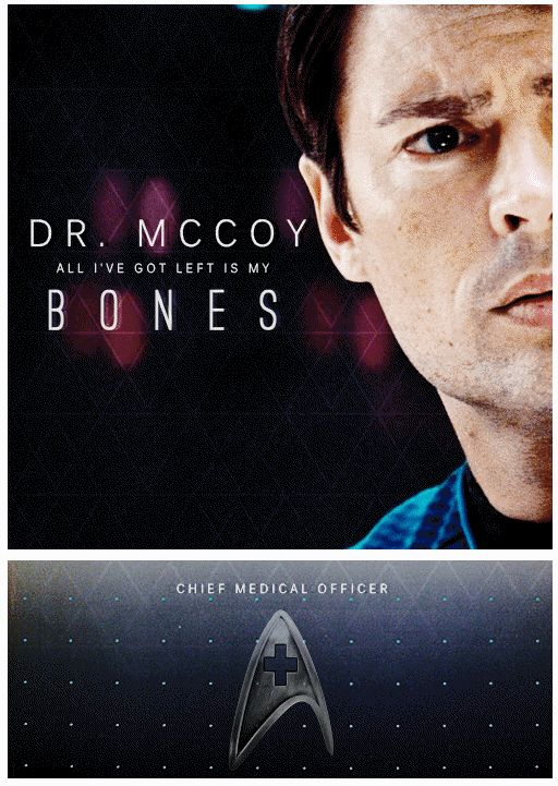 All I've got left is my bones #StarTrekReboot #StarTrek2009 #Bones