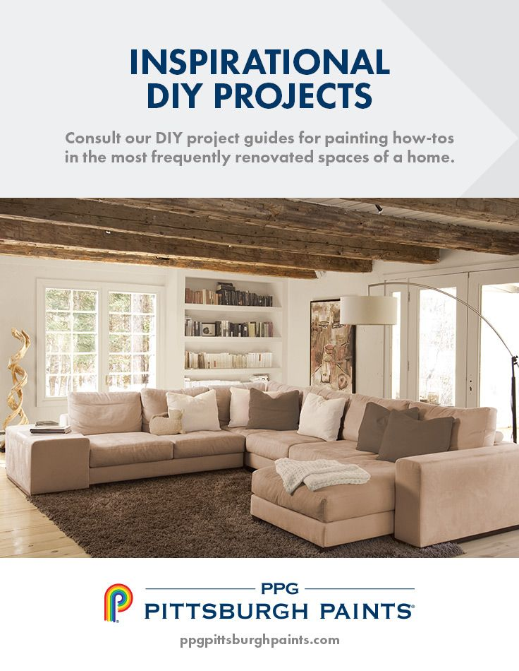 consult the ppg pittsburgh paints diy projects guides for painting how tos in the most frequently renovated spaces of a home whether youre painting a
