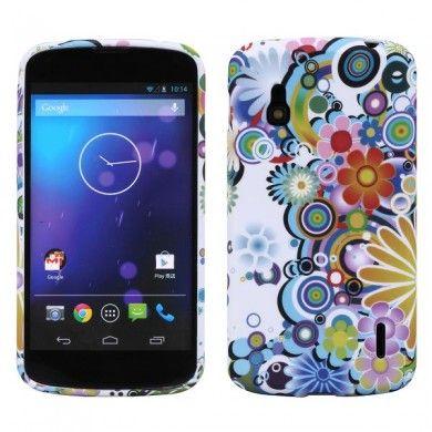 Forro Nexus 4 - Gel Flower