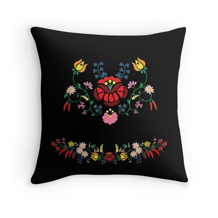Folk Floral Composition  by handcraftline