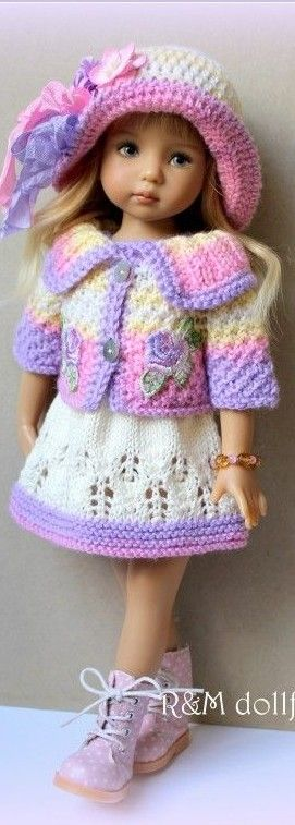 Little Darling Effner- cute pastel outfit