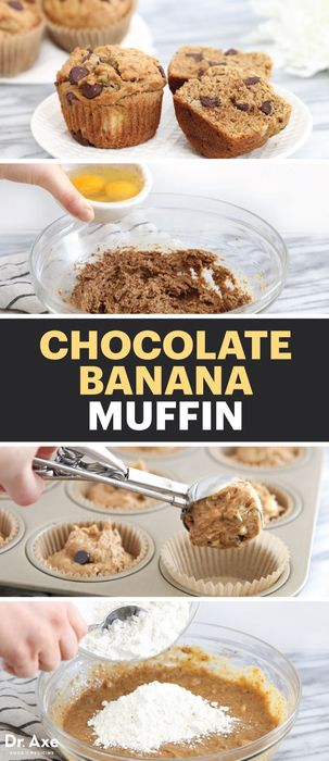 When you can't decide between breakfast and dessert, these Gluten-Free Chocolate Banana Muffins are a delicious choice.