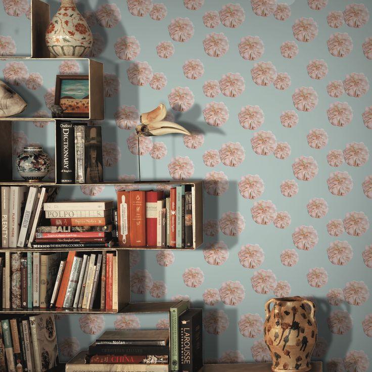 Rosey by Tanja Kallio on Feathr.com  #patternsfromagency #patternsfromfinland #pattern #patterndesign #surfacedesign#tanjakallio
