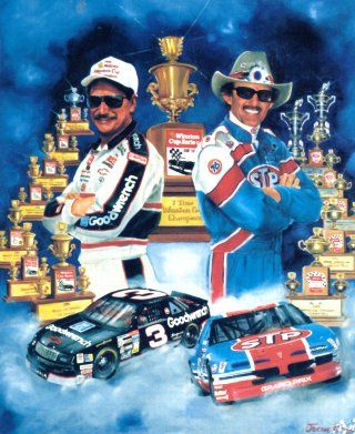 7 time Champions, none better!! #DaleEarnhardtArt http://www.pinterest.com/jr88rules/dale-earnhardt-art/