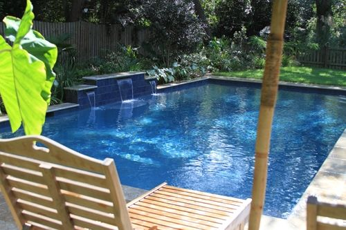 48 best images about swimming pools on pinterest for Pool design examples