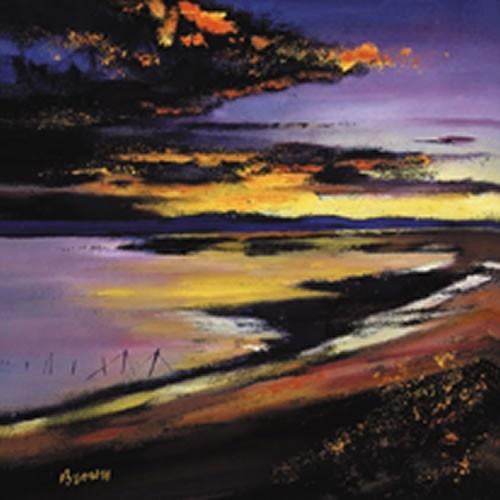 Art Prints Gallery - Cree Estuary Sunset (Limited Edition), £125.00 (http://www.artprintsgallery.co.uk/Davy-Brown/Cree-Estuary-Sunset-Limited-Edition.html)