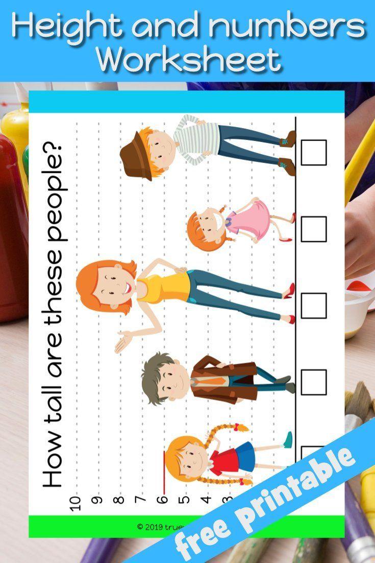 Learn About Measuring Heights And Number In This Preschool Workseet Freeprintable Homeschool S Preschool Bible Lessons Preschool Bible Bible Crafts Preschool [ 1102 x 735 Pixel ]