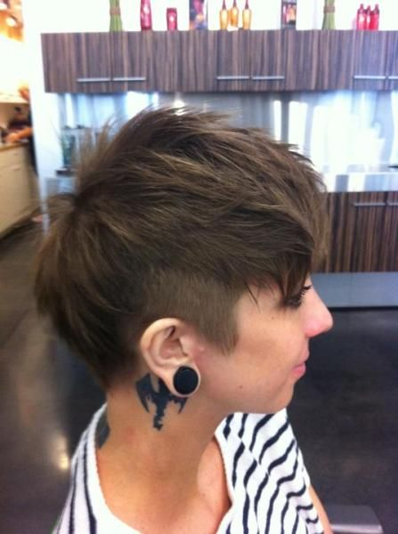 Amazing Best Ideas For Womens Short Haircuts : The Pixie Revolution: Hot Or Not:  The Mohawk U0026 Fauxhawk On Women