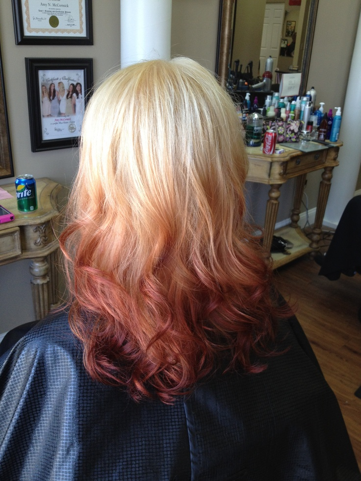 Fun Ambre Hair Color Hair Ambre Hair Ombre Hair