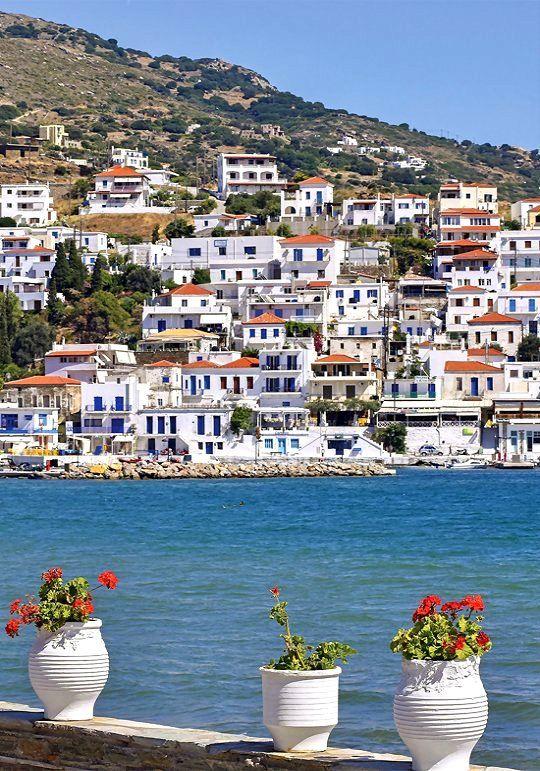 Batsi, Andros Island, Greece   by Thodoris Athanasiadis