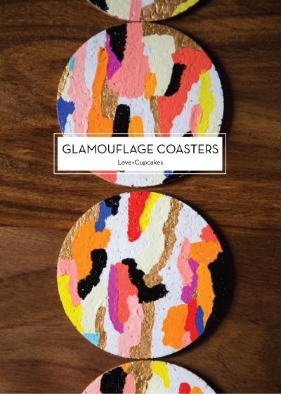 projects design unique coasters. glamouflage coasters Love Cupcakes Design Crush 192 best Coaster  images on Pinterest design