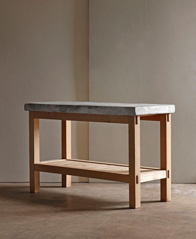 Minam Marble Prep Table Furniture In 2019 Kitchen