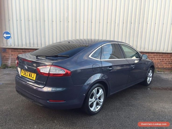 2014 FORD MONDEO 2.0 TDCI TITANIUM X BUSINESS POWER SHIFT AUTO - DAMAGED SALVAGE #ford #mondeo #forsale #unitedkingdom