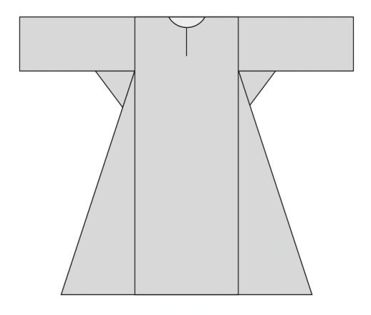 Making a simple medieval dress