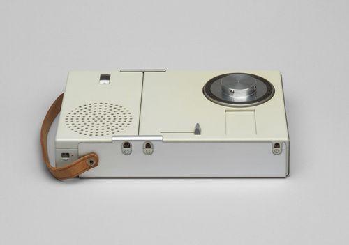 Dieter Rams. Portable Transistor Radio and Phonograph (model TP 1). 1959