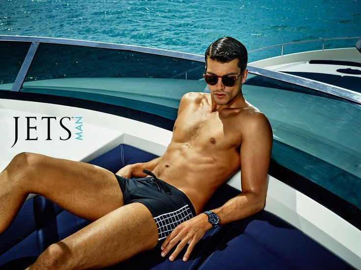 With distinct charm and suave attitude, this European-inspired ICON boyleg short creates a style that is slick.   Shop JETS Man: https://www.jets.com.au/shop/browse/?jets_collection=295  Experience the full campaign: https://jets.com.au/campaign-2015-08/jetsman.html