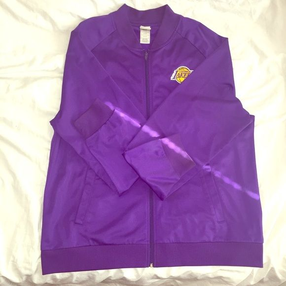 Lakers Jacket Men's Lakers Jacket. Worn once. Great condition. Size 2X Retro Sport Jackets & Coats