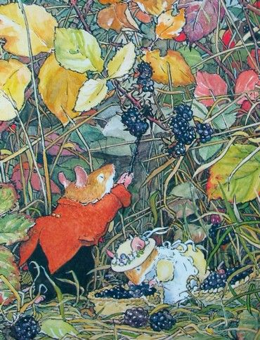 It's not called Brambly Hedge for nothing