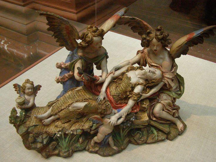 Luisa Roldán, Ecstasy of Saint Mary Magdalene, c 1690 | Flickr - Photo Sharing!