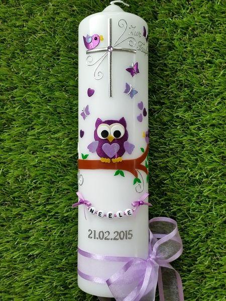 Taufkerzen - Taufkerze - ein Designerstück von Manus-Kerzenzauber bei DaWanda