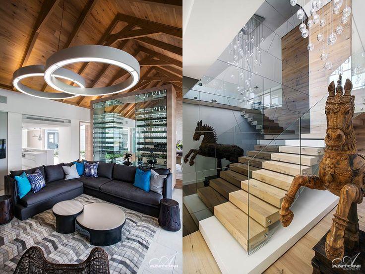 Дизайн интерьера частного дома De Zalze от студии Antoni Associates / CURATED.ru
