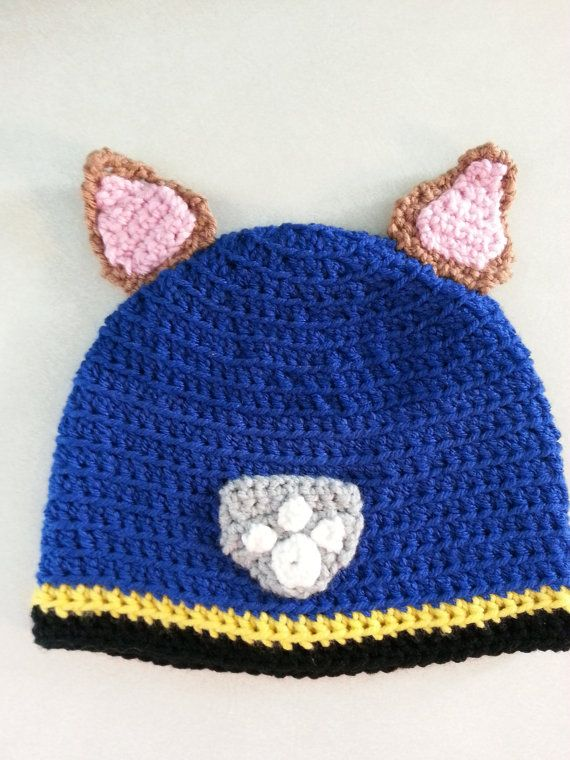 Crochet Hat Pattern Paw Patrol : 23 Best images about Crochet - paw patrol on Pinterest ...