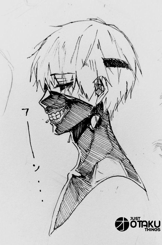 Ken Kaneki, from Tokyo Ghoul #tokyoghoul #justotak…