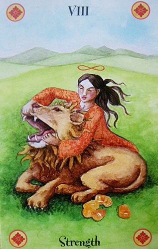 Free Daily Tarotscope — Dec 12, 2015 — Strength -- You may be called upon today to find your inner reserves of strength and overcome your deepest fears. The Strength card is all about mind over matter and gaining control over the things in your life that are at risk for spiraling out of control. (more)...