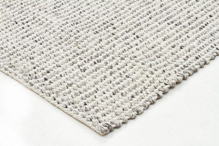 Carlos Felted Wool Rug Grey Natural - Rug Emporium - 2