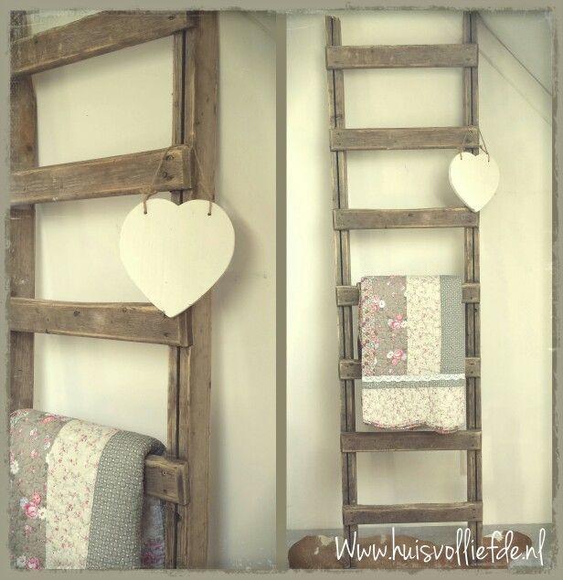 17 best images about huis vol liefde on pinterest for Decoratie ladder action